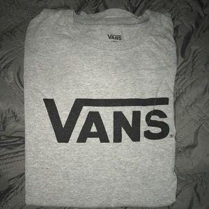 Gray Vans T-Shirt